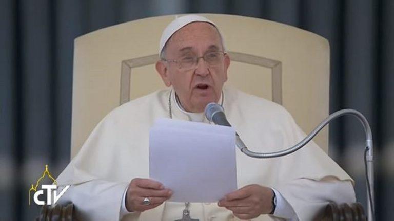 教宗方济各:对基督徒的迫害是令人无法接受的罪行