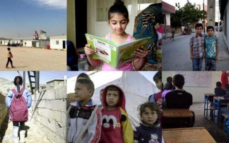 叙利亚难民儿童就学援助缺乏保障:金流不透明、目标不准确、数据不齐全