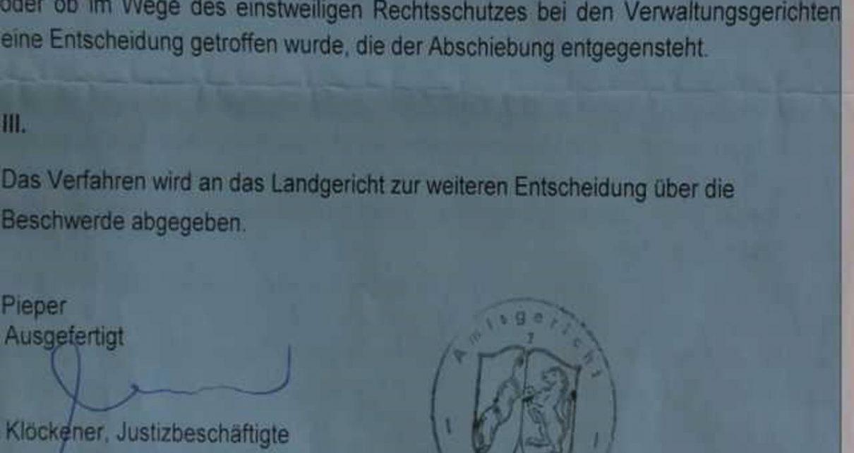 德国会在8月31日将另一名受害人送回迫害者手中吗?