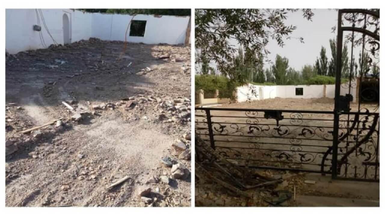 废墟下的清真寺