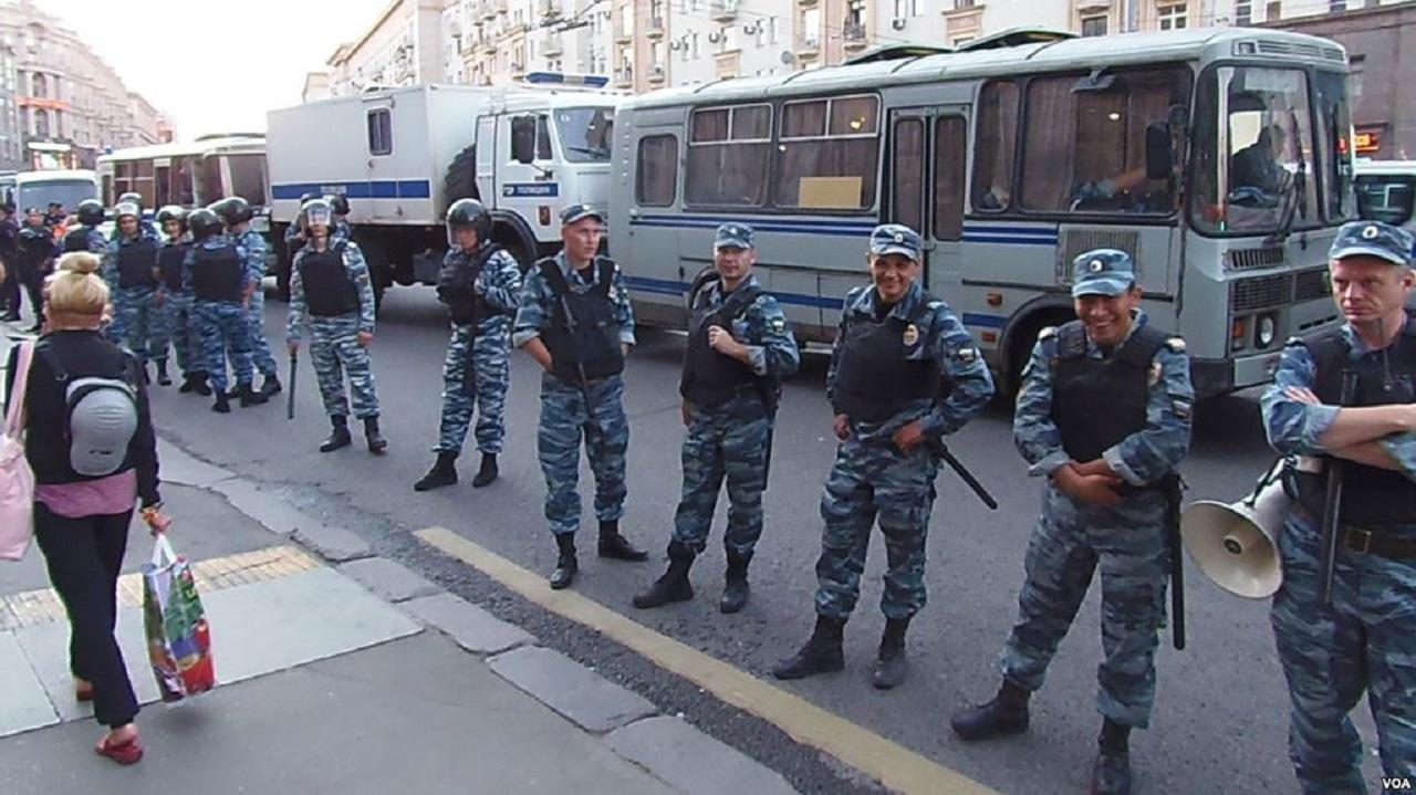 人权报告:俄活动人士处境险恶遭更多暴力攻击