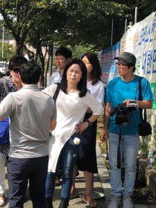 中共在韩继续虚假示威以攻击全能神教会难民 黑客试图阻止《寒冬》报道该事件