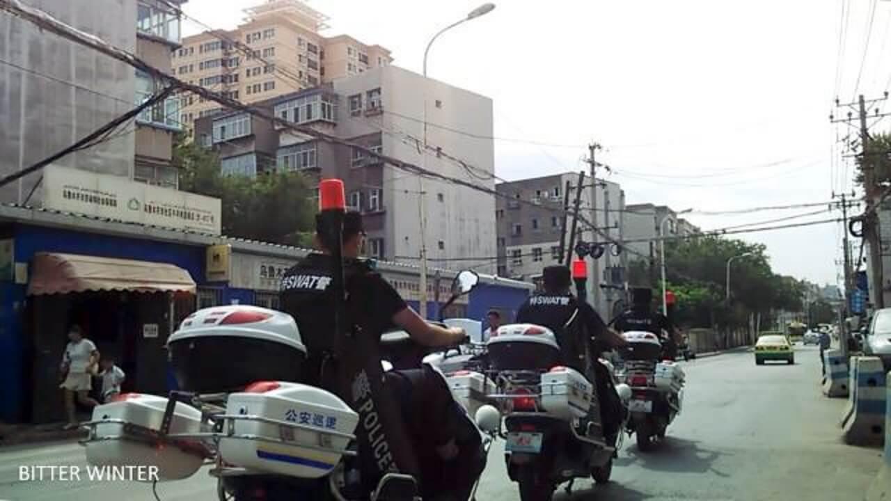 中国:对穆斯林地区的大规模镇压