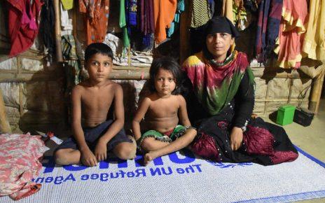联合国人权高专敦促孟加拉国停止遣返罗兴亚难民的计划