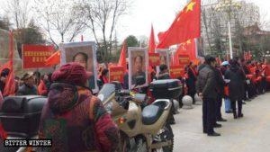 取缔圣诞节庆祝毛泽东诞辰(组图、视频)