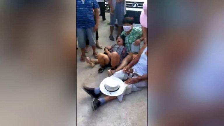 政府派千人强拆民房多名老人遭殴打(视频)