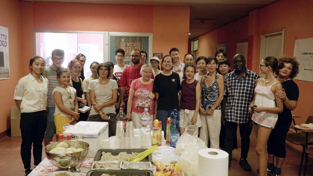 Il Giardino degli Aromi Onlus协会举办友谊聚餐