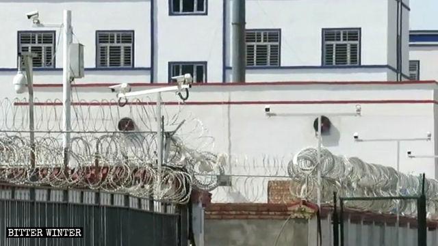 新疆哈密市一教育转化营外景