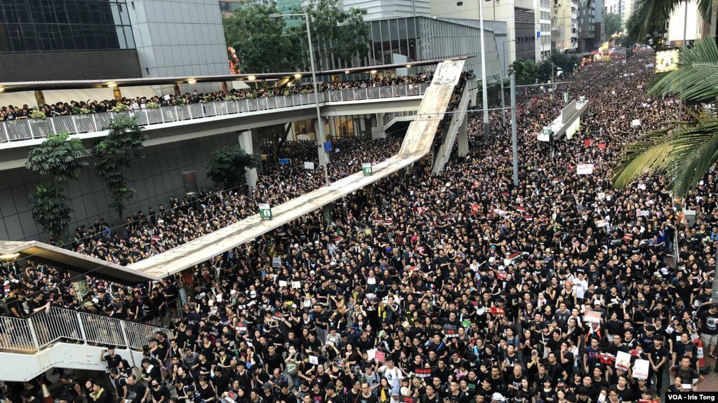 香港反送中示威游行