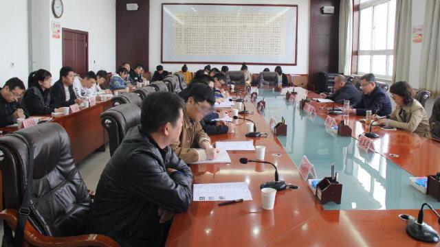 陕西榆林市民宗局职员参加保密培训(网络图片)